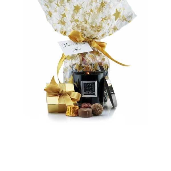 Candle & Chocolates goody bag