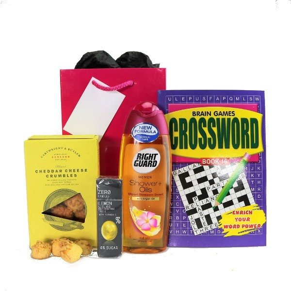 Crumbs care home gift bag