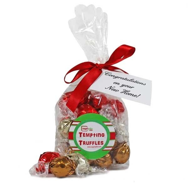 Personalised bag of truffles