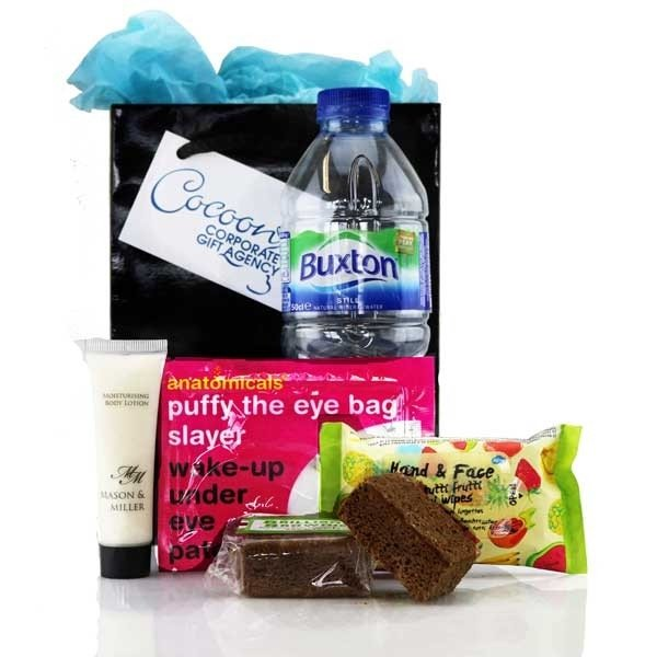 Recover and Refresh goody bag